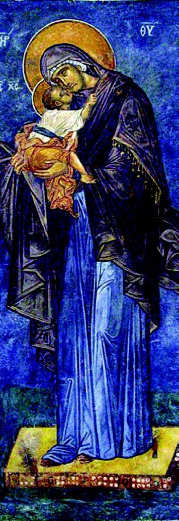 Maica Domnului si Pruncul Iisus