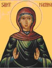 Sfanta Macrina a fost sora Sfantului Vasile