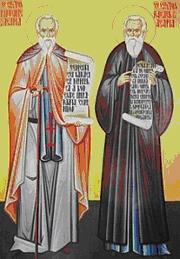 Sfintii Cuviosi Rafael si Partenie de la Agapia
