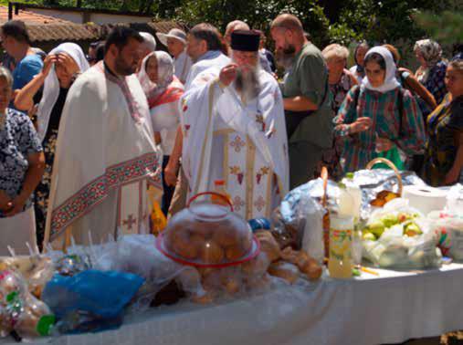 slujba la Manastirea Sfanta Marina