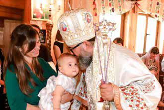preot copil botez