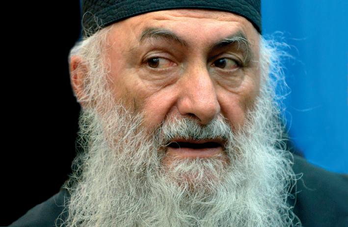 Părintele arhimandrit Zaharia Zaharou